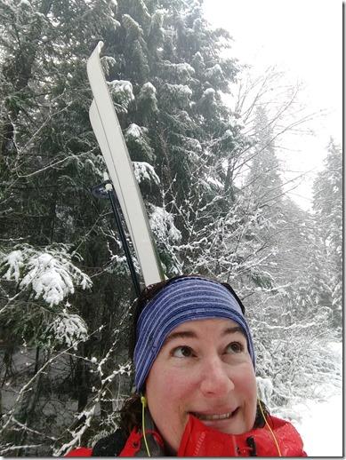 smartwool merino headband in winter
