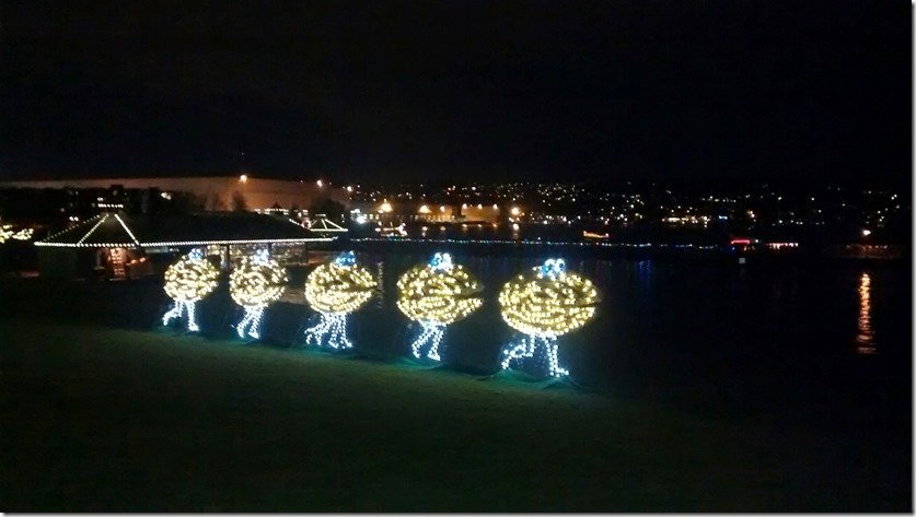 Clam Lights Renton Unique Seattle Holiday traditions