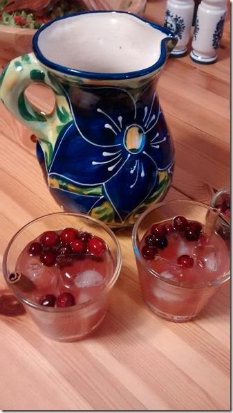 Cranberry Fireball Cocktail
