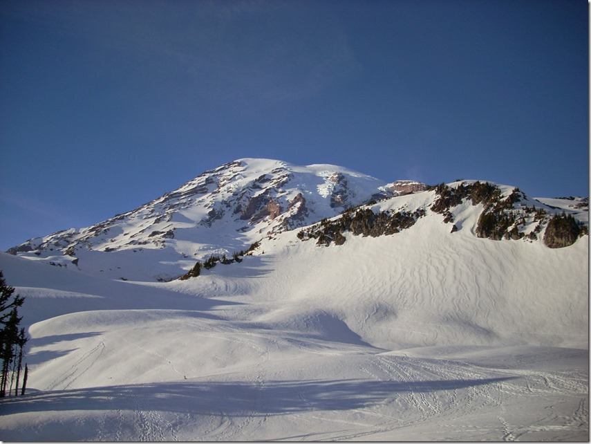 winter day trip to mt rainier snowshoeing paradise mountain view